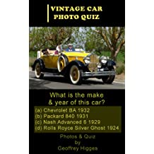 50 Vintage Cars - A Photo Quiz (Car Photo Quiz Book 1)