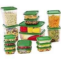 LuluLife 保存容器 プラスチック 冷蔵庫 収納 ボックス 密閉 整理ケース 17点セット 野菜室 整理