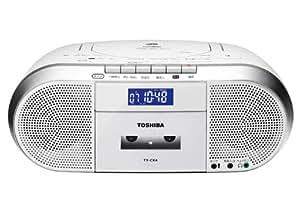 TOSHIBA CDラジオカセットレコーダー CUTEBEAT TY-CK4(S)