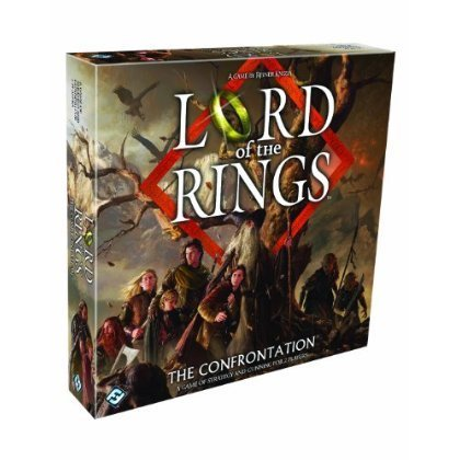The Lord of The Rings Confrontation Board Game おもちゃ [並行輸入品]
