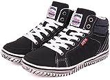 (エドウィン) EDWIN 子供靴 軽量 ハイカットスニーカー キッズ 男の子 ジュニア カジュアル EDW-3545 ブラック 21.0