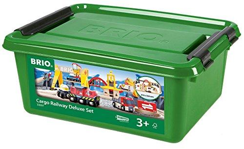 BRIO カーゴレールデラックスセット 33097