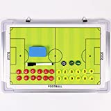 HIROMARUjp サッカー フットサル 作戦盤 折りたたみ タクティック コーチング ボード サッカー E