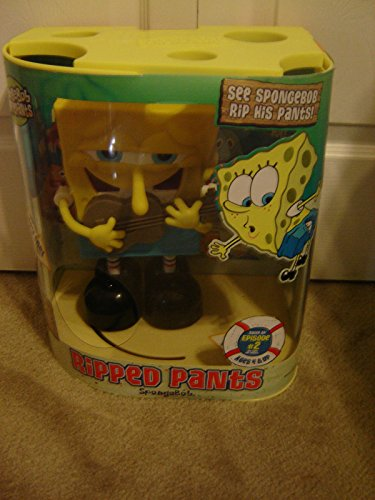 스펀지 밥 장난감 NEW SPONGEBOB SQUAREPANTS RIPPED PANTS ANIMATED SINGING TOY [병행수입품]-q1