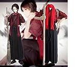 刀剣乱舞 加州清光 風 コスプレ衣装セット (上着、ズボン、スカーフ) コスチューム cosplay (M)