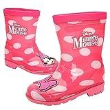 [ディズニー] DISNEY ミニーマウス Minnie Mouse 水玉 ピンク リボン レインブーツ 長ぐつ [並行輸入品]