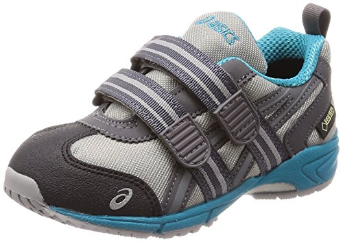 アシックス 運動靴 TR.Runner Mini G-TX キッズ グレー オリエンタルブルー 16 cm