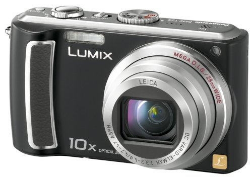 Panasonic デジタルカメラ LUMIX (ルミックス) ブラック DMC-TZ5-K