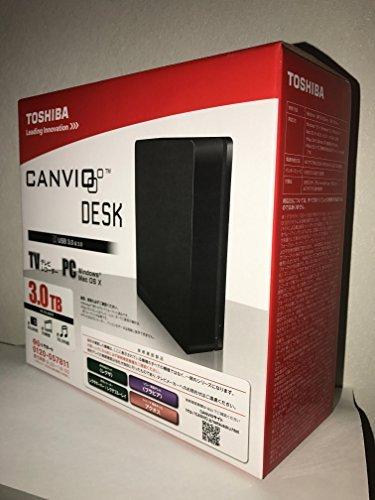 東芝 TOSHIBA CANVIO DESK 外付けハードディスク HD-EDシリーズ 3.0TB HD-ED-B30TK