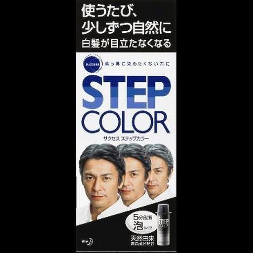 ピジン前任者決定【まとめ買い】サクセス ステップカラー 110g ×2セット