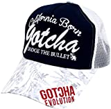 GOTCHA GOLF(ガッチャゴルフ) キャップ メッシュ 刺繍 バイカラー ネイビー Free