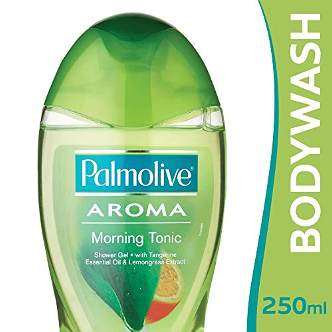 顕現チャップ側面Palmolive Bodywash Aroma Morning Tonic Shower Gel - 250ml
