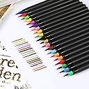 バリイチゴ屋 水彩毛筆 カラー筆ペン 水性 カラーペン 水彩筆ペン 画筆 絵用 漫画など幅広い用途に使えます