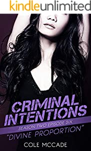 CRIMINAL INTENTIONS: Season Two, Episode Six: DIVINE PROPORTION (English Edition)