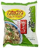 トーエー食品 どんぶり麺・山菜そば 78g×4袋