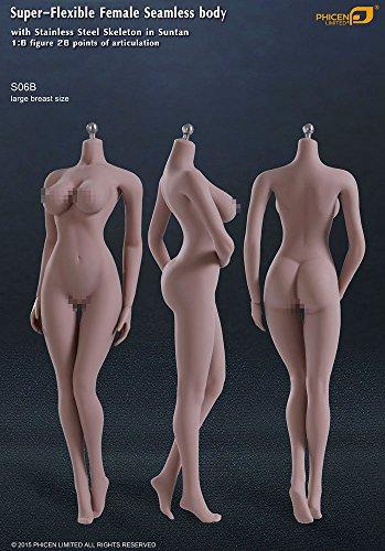 ファイセン・リミテッド 1/6スケール 超柔軟性シームレス女性素体 サンタンシリーズ バストサイズL(S06B)