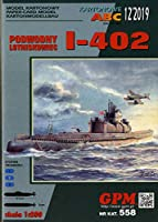 GPM 1:200 日本海軍 潜特型 伊-402 昭和20年時 セット品2 (Card Model)