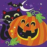Happy Halloween Paper Napkins, Pack of 16