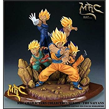 Dragon Ball Z Dbz Super Saiyan Goku Vs Frieza Statue Gk Resin Figure In Stock Action & Toy Figures
