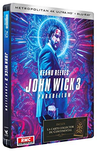 ジョン・ウィック:パラベラム 限定スチールブック仕様[4K UHD+Blu-ray ※日本語無し](輸入版)  -John Wick Parabellum SteelBook 4K Ultra HD-
