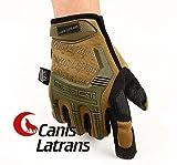 Canis Latrans タクティクル グローブ M-PACT タイプ サバゲー メカニクス 装備 (M, TA)