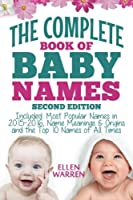 Baby Names: The Complete Book of the Best Baby Names