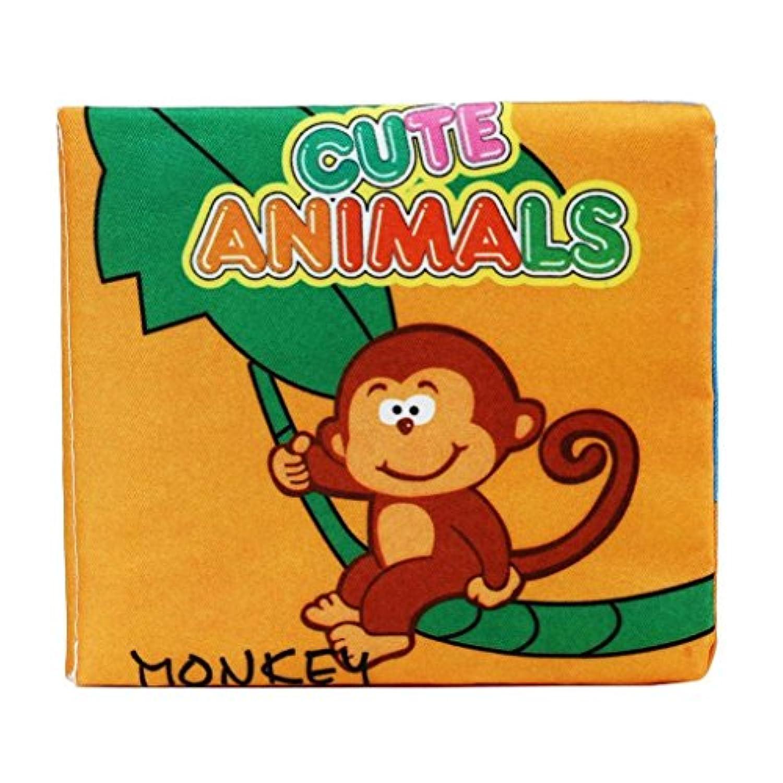 XUANOU Soft Cloth Book Baby Intelligence Development Identify Animals Cognize Book