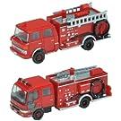 トラコレ2台セットI 消防ポンプ車