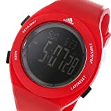 アディダス パフォーマンス クオーツ デジタル メンズ 腕時計 ADP3209 レッド