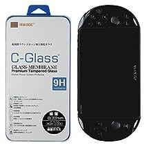 NEWLOGIC 【PS VITA PCH-2000】 C-Glass 0.33mm 保護ガラス (硬度 9H) 液晶保護 ガラス フィルム PSVITA 強化ガラス