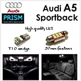 アウディ Audi A5 ('10.1~'11.12 ) スポーツバック 室内灯 LED ルームランプ 16カ所 最新4014SMD キャンセラー内蔵 6000K