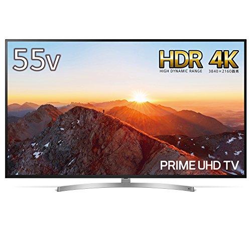 LG 55V型 液晶 テレビ 55SK8500PJA 4K HDR対応 ドルビービジョン対応 2018年モデル
