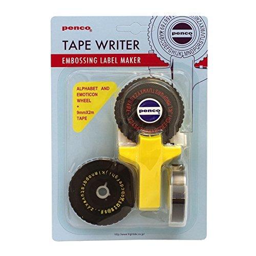 RoomClip商品情報 - ペンコ テープライター【イエロー】 DP114YE