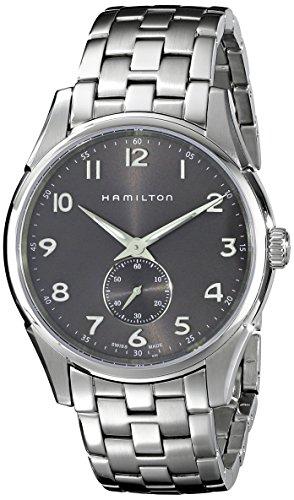 [ハミルトン] 腕時計 JAZZMASTER THINLINE PETITE SECONDE(ジャズマスター シンライン プチセコンド) H38411183 正規輸入品 シルバー