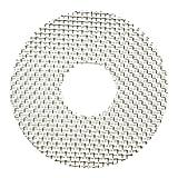 大建プラスチックス 防虫網 丸型・角型プッシュ式用 2枚セット A-100MPS-02