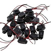 UHPPOTE 1.2VDC機械ブザー ソーラー 害虫駆除器アクセサリー 70dB リード線付(100パック)