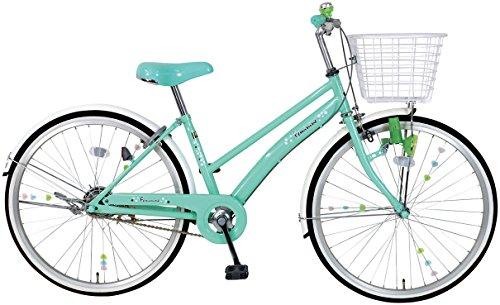 C.Dream(シードリーム) フェミニン FM41 24インチ自転車 子供自転車 グリーン 100...