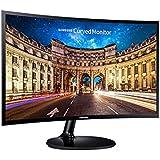"Samsung LC24F390FHEXXY LED-Lit Full HD Curved Monitor, 23.5"", Black"