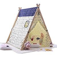 子供用 プレイテント 2~12歳用 布製 カウハイドタイロープ シンプルなファッション 屋内用