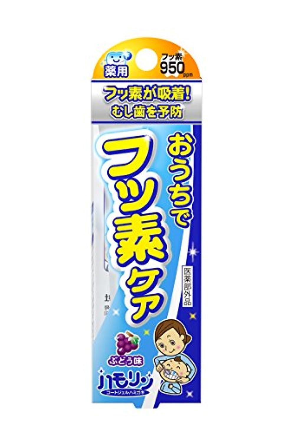 手段文化ライブハモリン コートジェルハミガキ ぶどう味 30g
