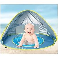 juiciatrendz新しいデザイン:ベビービーチテントuv-protecting Sunshelter withプール防水Pop Upオーニングテント子供用アウトドアキャンプサンシェードビーチテント