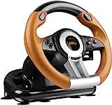 Speedlink Drift O.Z. Racing Wheel - Black/Orange (PS3)