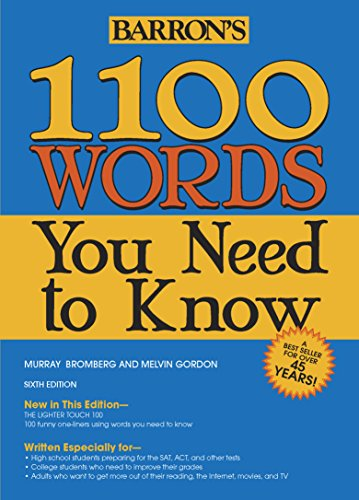 Barron's 1100 Words You Need to Knowの詳細を見る