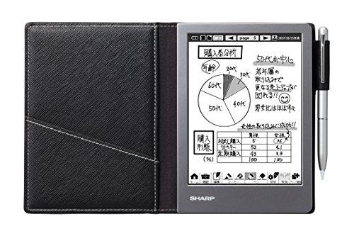 シャープ 電子ノート ブラック系 WG-S50