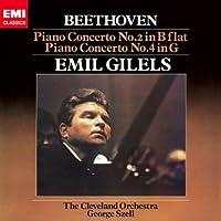 ベートーヴェン:ピアノ協奏曲第2番&第4番