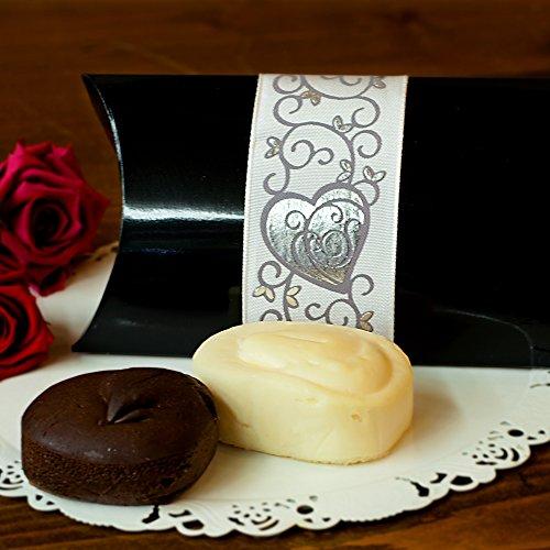 濃厚 ミニ ケーキ 生チョコ 焼き ( ギフト 用・2個入り 【 チョコ ×1 チーズ ×1】)