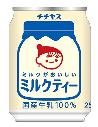伊藤園 チチヤス ミルクがおいしいミルクティー (缶) 250g×24本