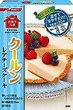 日清 お菓子百科 クールン レアチーズケーキ 110g×4個