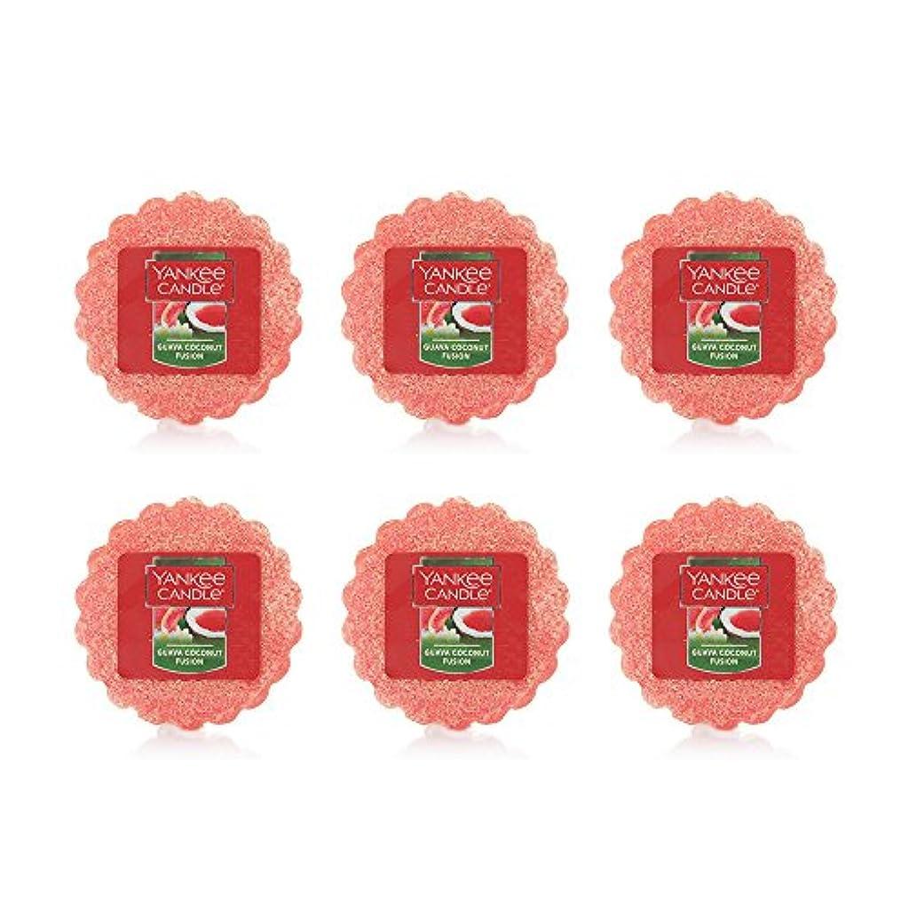 さまようリンク惑星Yankee Candle Lot of 6 Guava Coconut Fusion TartsワックスMelts