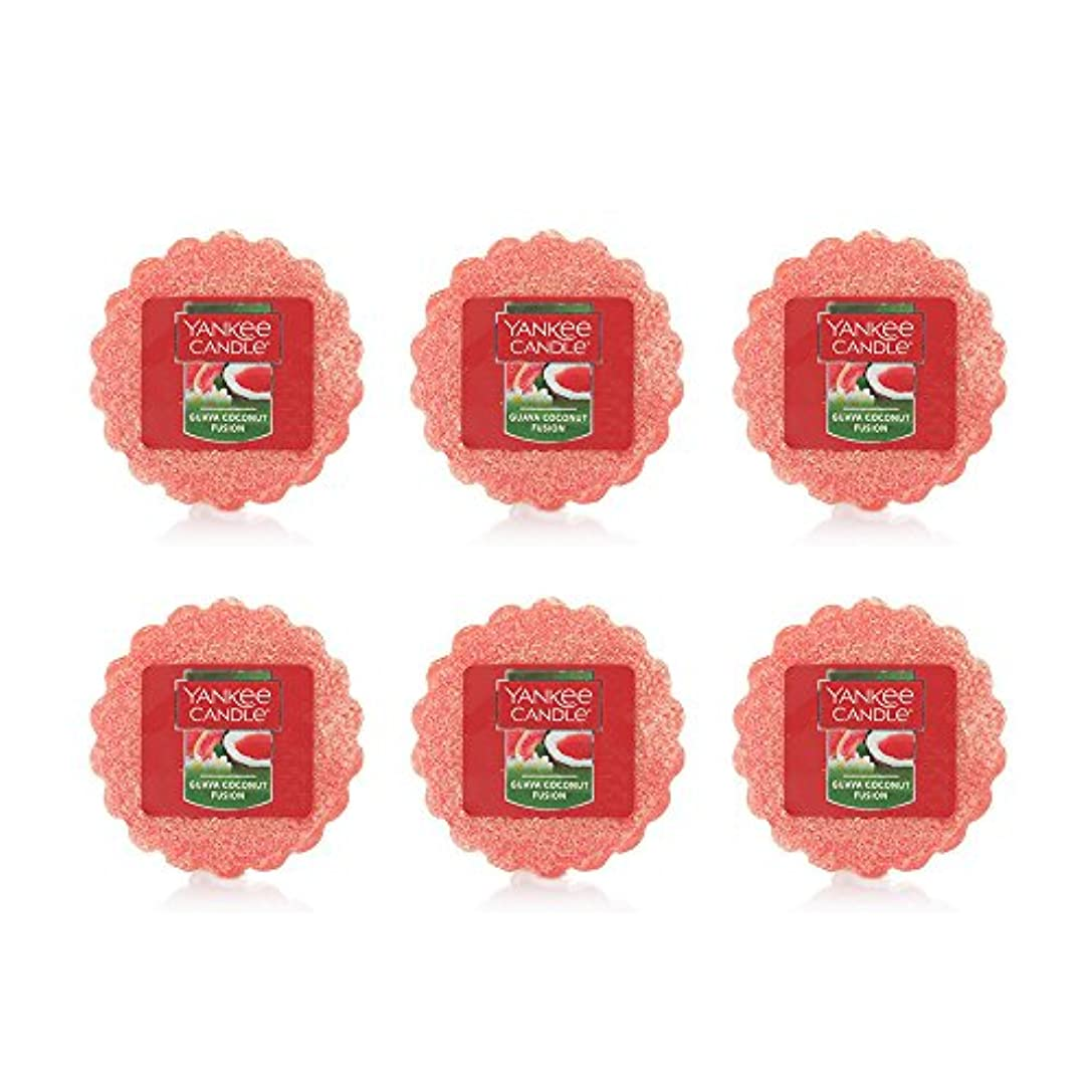 塊愛情シロクマYankee Candle Lot of 6 Guava Coconut Fusion TartsワックスMelts